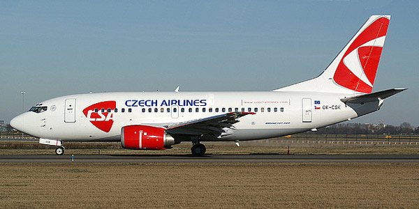 Пассажирский самолет Boeing 737-500 (Боинг-737-500)