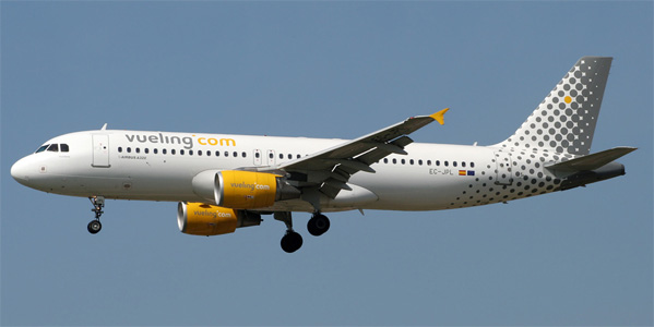 Airbus A320 commercial aircraft