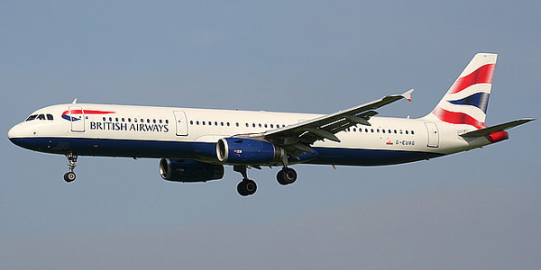 Airbus A321 commercial aircraft