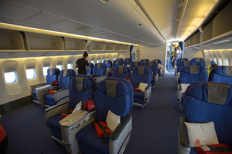 Nord wind airlines for Interieur 777 300