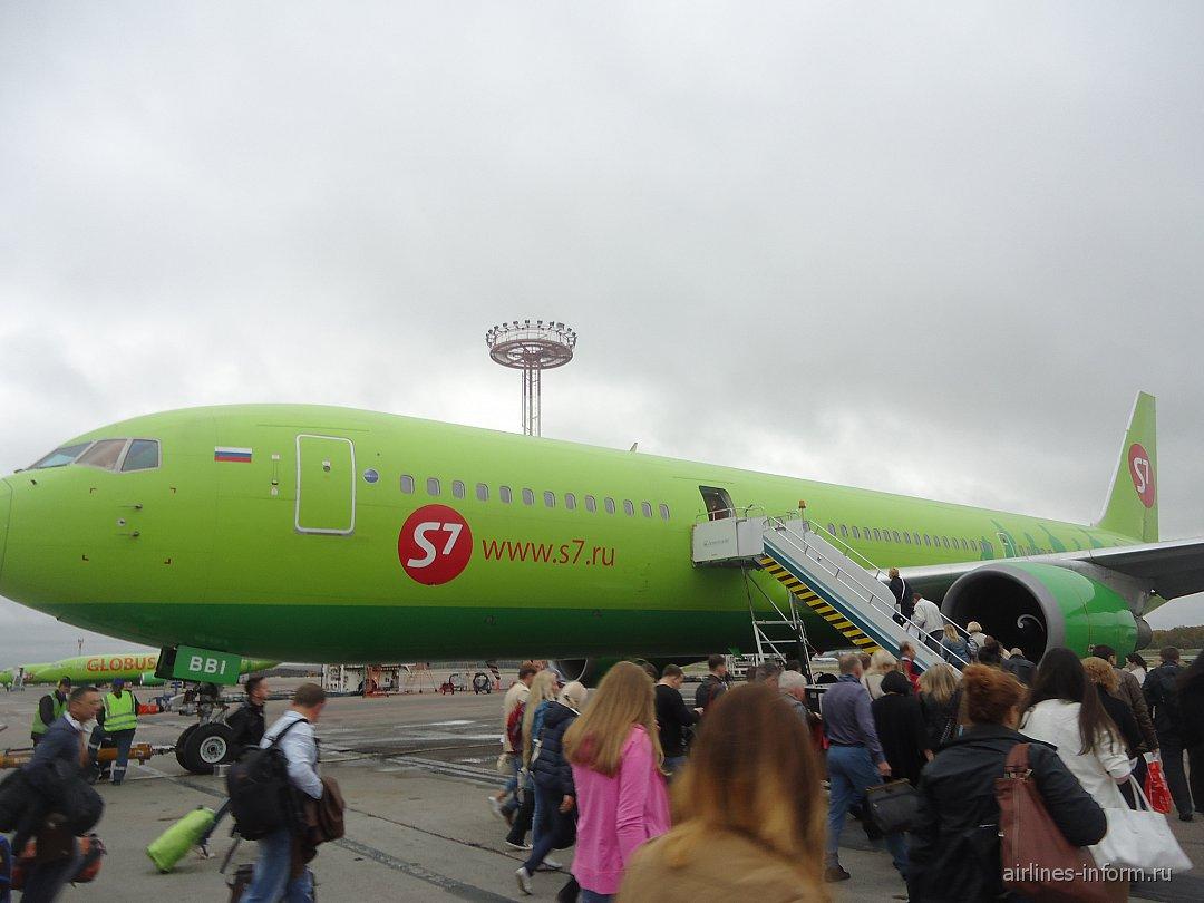 Фото самолетов авиакомпании s7 2