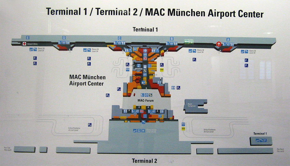 Аэропорт Мюнхена имеет 2