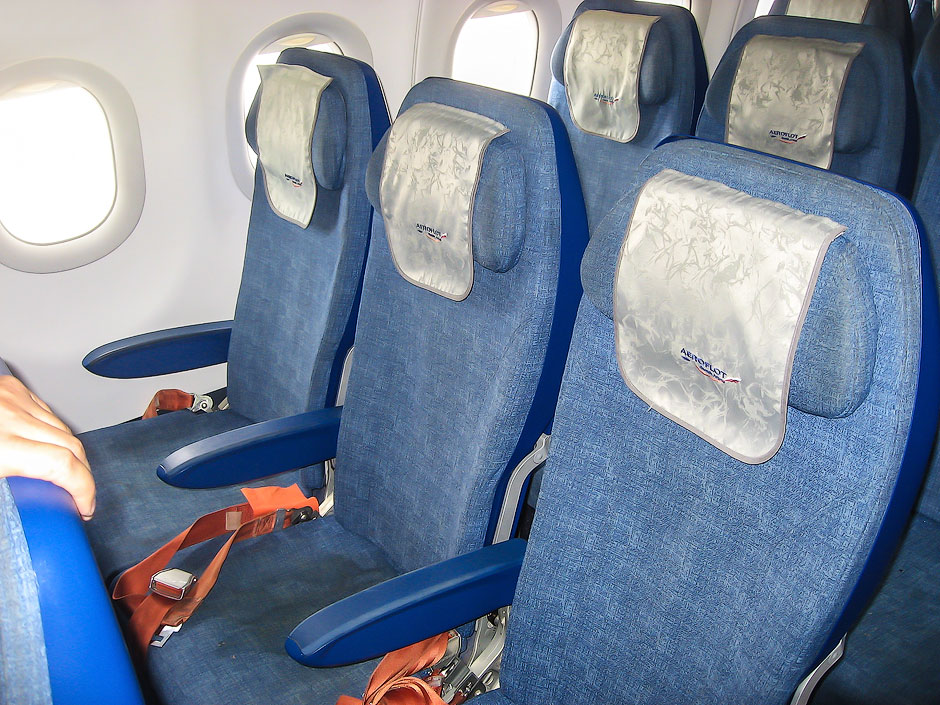Кресла эконом класса в самолете airbus a321