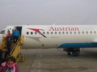 Санкт-Петербург - Вена (LED-VIE) c Austrian Airlines на Fokker 100