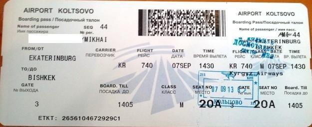 Как сделать билет на самолет