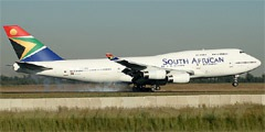 Авиакомпания South African Airways (Сауз Африкан Эйрвэйз)