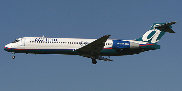 Boeing 717 commercial aircraft