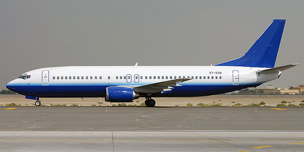 Boeing 737-400 commercial aircraft
