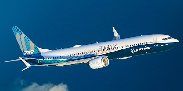 Boeing 737 MAX 10 commercial aircraft