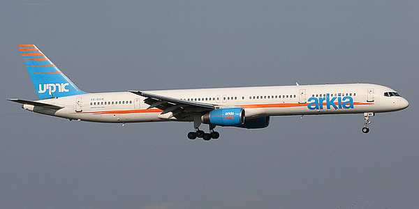 Boeing 757-300 commercial aircraft