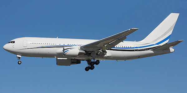 Boeing 767-200 commercial aircraft