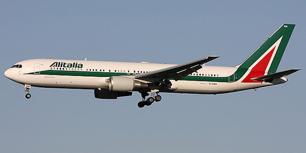 Boeing 767-300 commercial aircraft