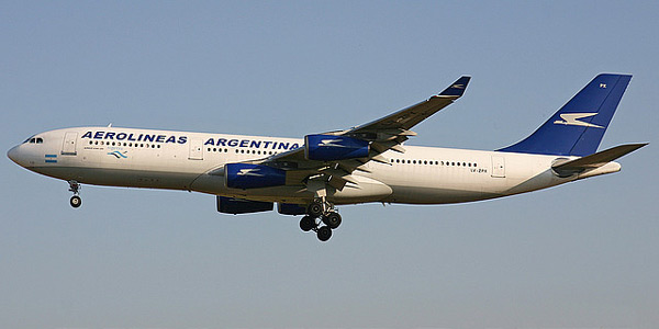 Airbus A340-200 commercial aircraft
