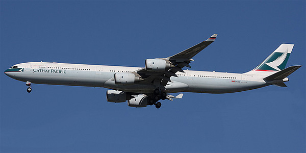 Airbus A340-600 commercial aircraft
