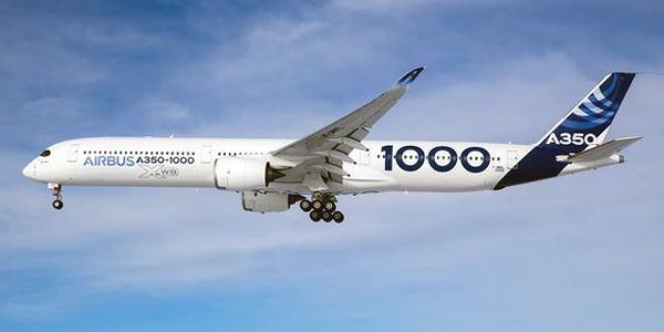 Airbus A350-1000 commercial aircraft