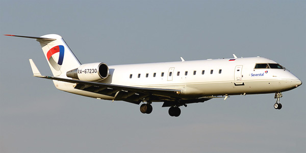 Planes Of The Bombardier Crj Family