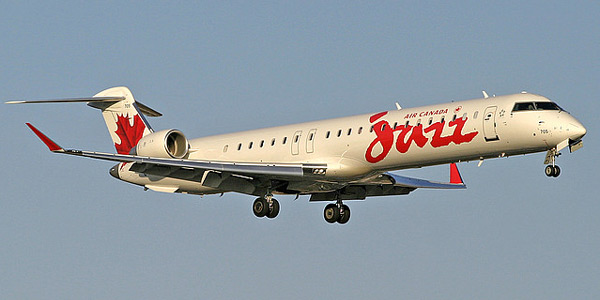 Bombardier CRJ705 commercial aircraft