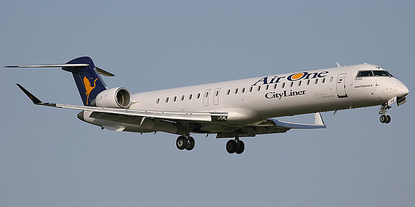 Bombardier CRJ900 commercial aircraft