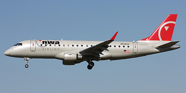 Embraer 175 commercial aircraft