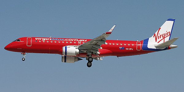 Embraer 190 commercial aircraft