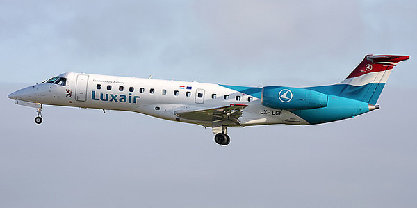 Embraer ERJ-135 commercial aircraft