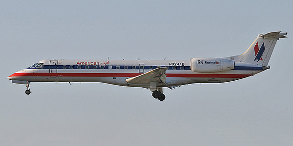 Embraer ERJ-140 commercial aircraft