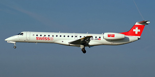 Embraer ERJ-145 commercial aircraft