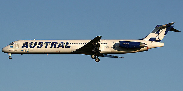 McDonnell Douglas MD-80 commercial aircraft