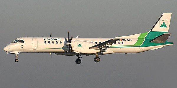 Saab 2000 commercial aircraft