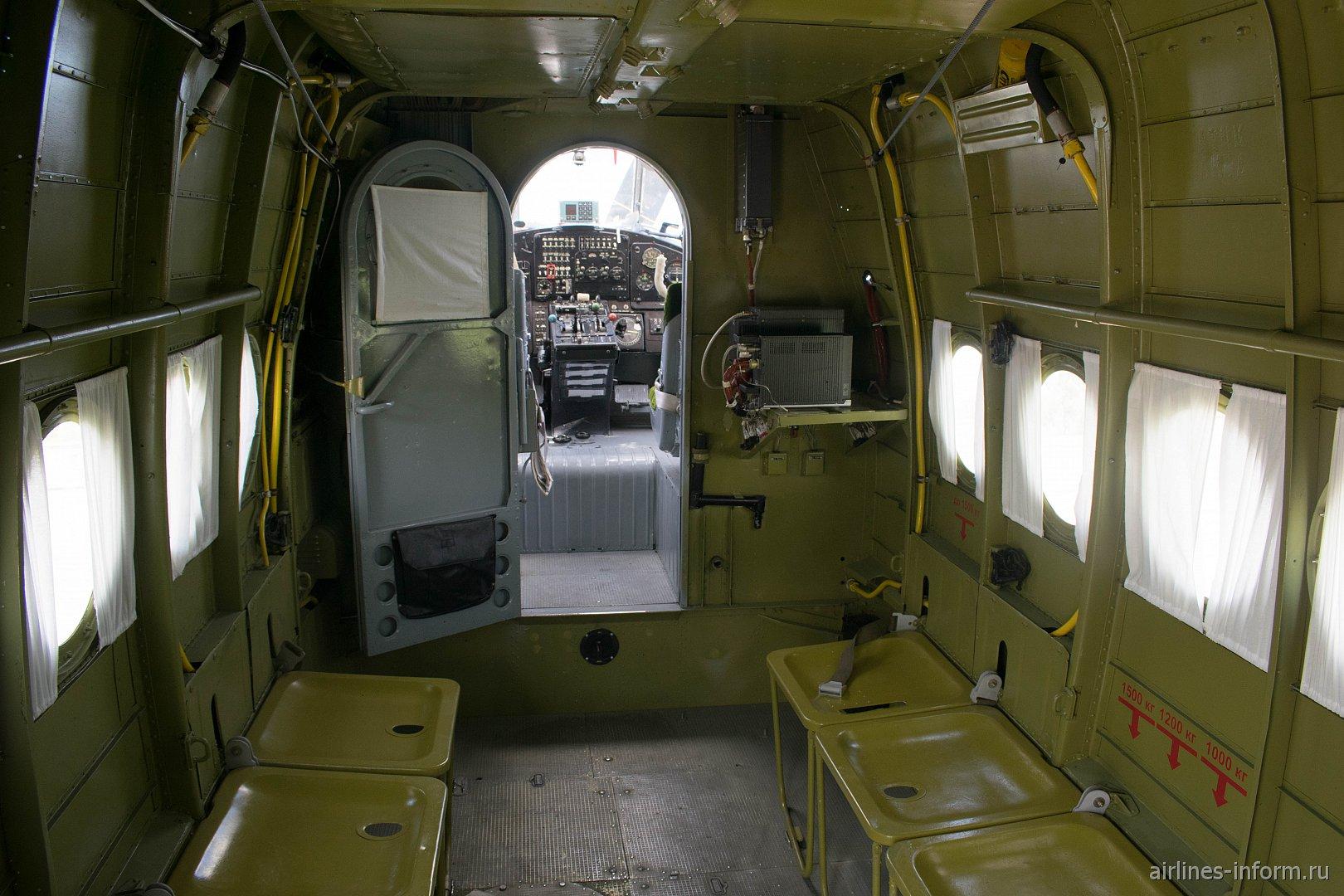 Салон транспортного самолета Ан-2 ВВС России
