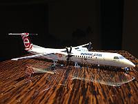 Обзор модели самолета Bombardier DHC-8 Q400 LOT от Gemini Jets 1:200