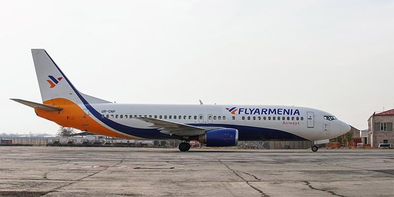 بلیط هواپیما تهران به ایروان