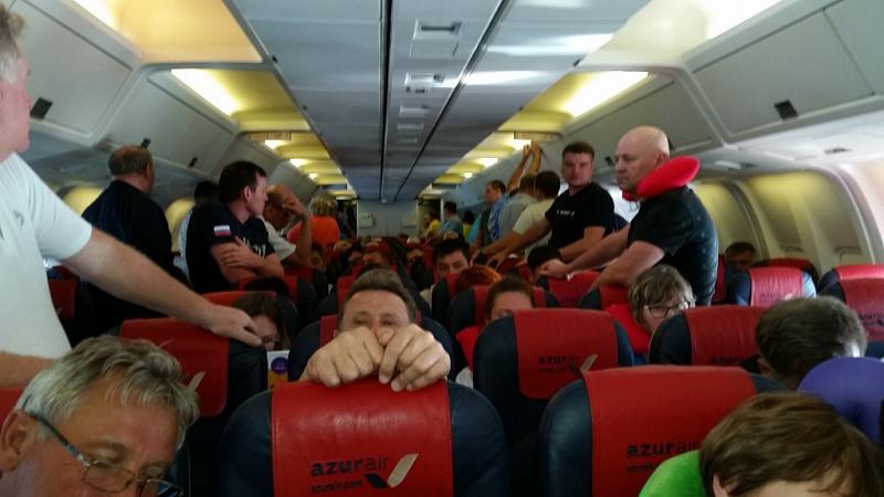 Летевший в Кубу самолет вернулся в Домодедово из за сбоя